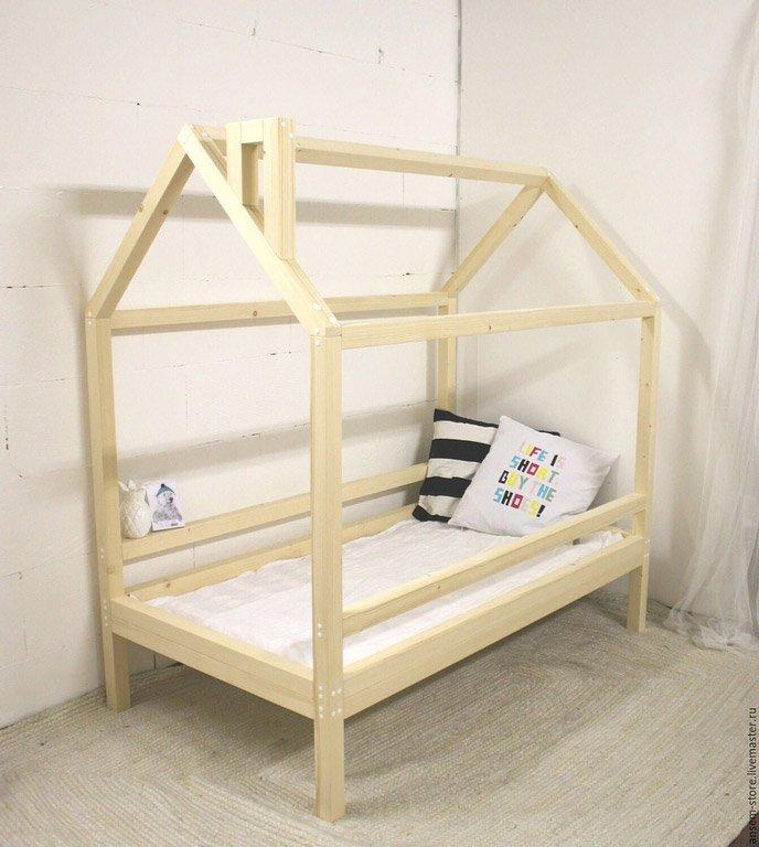 Детский домик кроватка своими руками